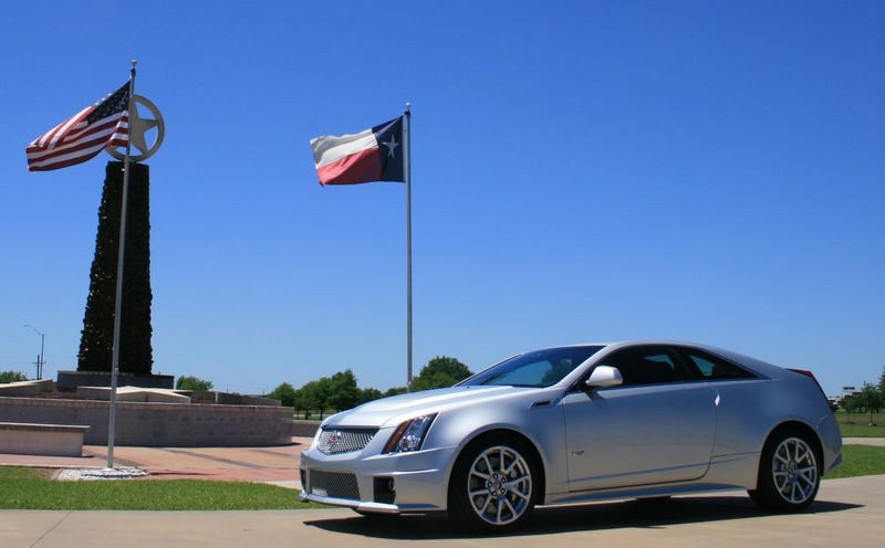 Illustration for article titled Cadillac CTS-V Coupe: First Ride