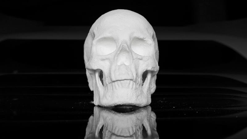 Illustration for article titled This full-size human skull is made out of cocaine