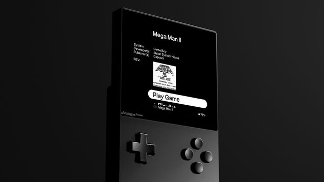 Analogue's Pocket Promises to Be a Comprehensive Database of Retro Handheld Games