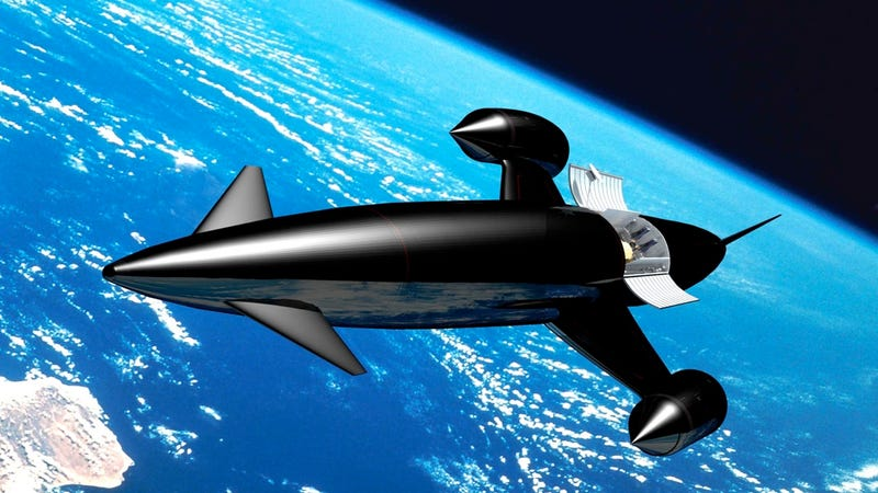 Illustration for article titled Test Inches Mach 5.5 UK Spaceplane Closer To Reality