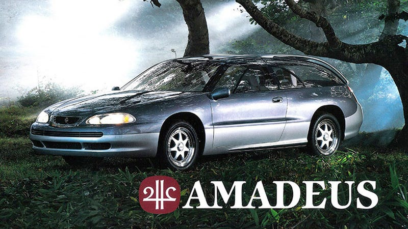 Illustration for article titled The Subaru Amadeus Was A Flat Six Shooting Brake That Wasn't