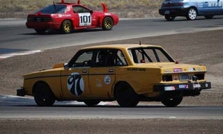Illustration for article titled 2 Hours To Go In Day One, V8 Volvo Leads At Buttonwillow