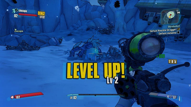 Illustration for article titled Borderlands 2's Level Cap Will Go Up To 61 On April 2