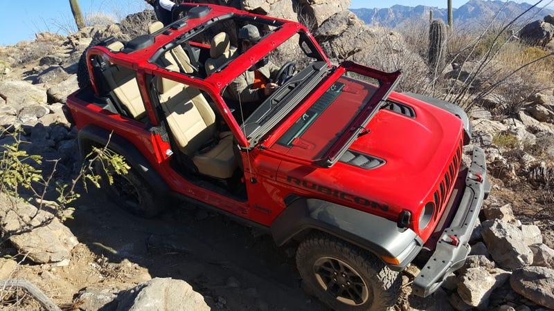 Su Gu 237 A Para Quitar Las Puertas Y M 225 S Del 2018 Jeep Wrangler