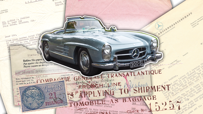 Illustration for article titled This Is How You Bought A 300SL Roadster In 1957