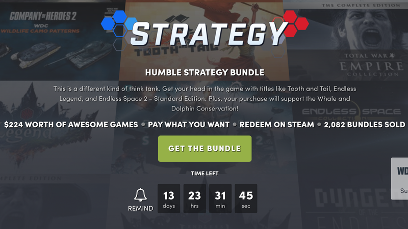 Humble Strategy Bundle | Humble
