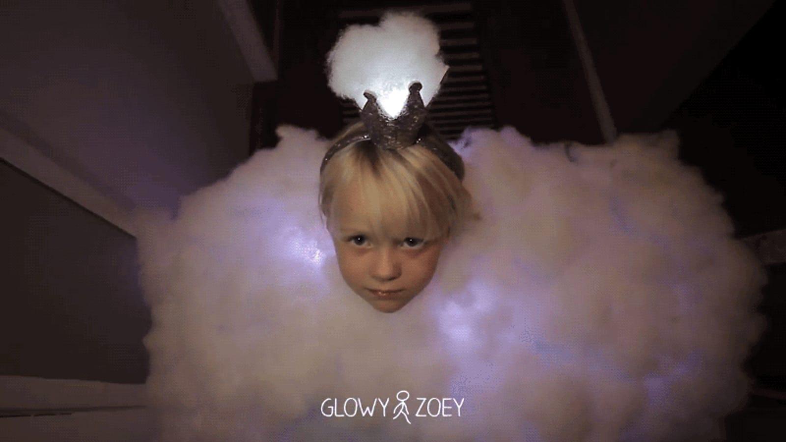 Y el disfraz de Halloween más adorable del año es... esta tormenta de algodón hecha con Arduino