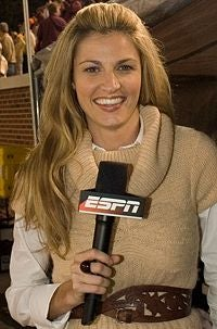 Illustration for article titled Erin Andrews Seriousness Paved Her Path To Stardom