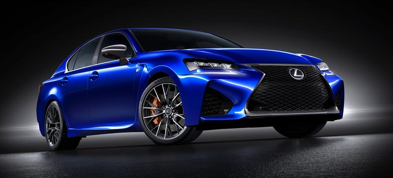 The 2016 Lexus Gs F Is 90 Horsepower And 300 Pounds Down On The Bmw M5