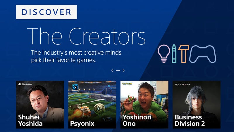 Illustration for article titled PlayStation Store Now Has Curation From Big Developers