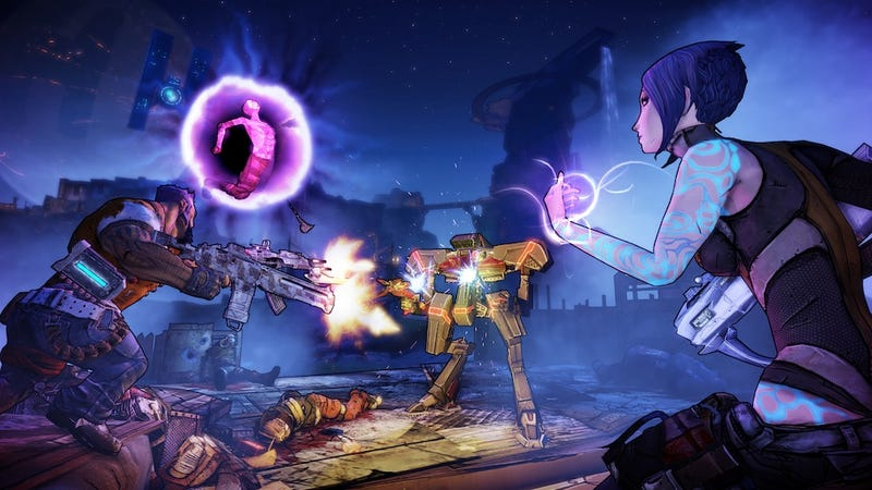 Illustration for article titled There's A New Siren In Borderlands 2, And She Kicks Fierce Robot Ass