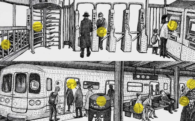 Illustration for article titled Tele van a metró undorító bacilusokkal