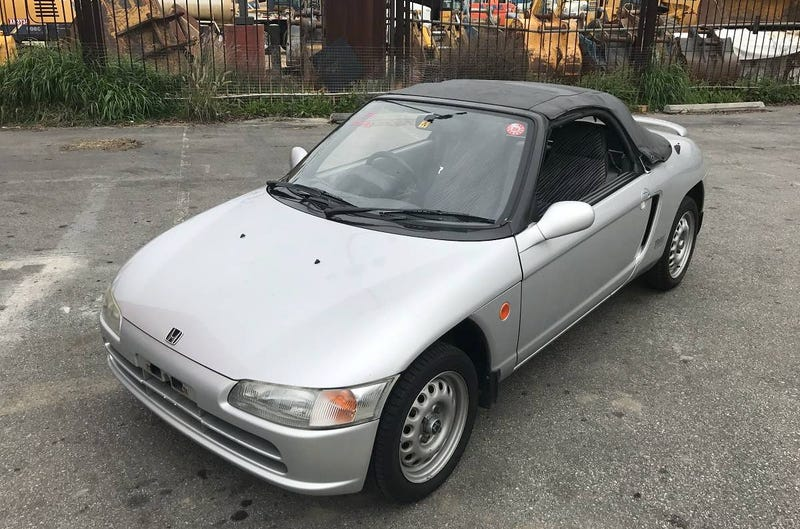 Illustration for article titled For $6,000, Could You Beat This 1991 Honda Beat?