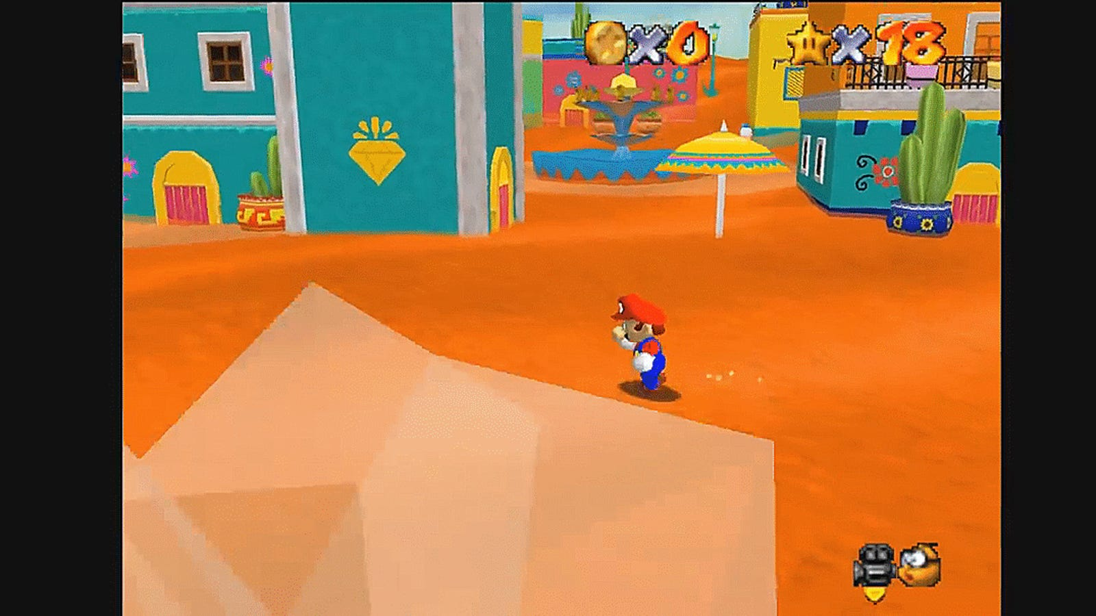 A Modder Recreated Super Mario Odyssey's Sand Kingdom In Super Mario 64