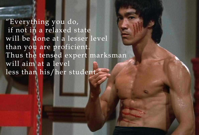 Illustration for article titled Bruce Lee teachings in oppoing