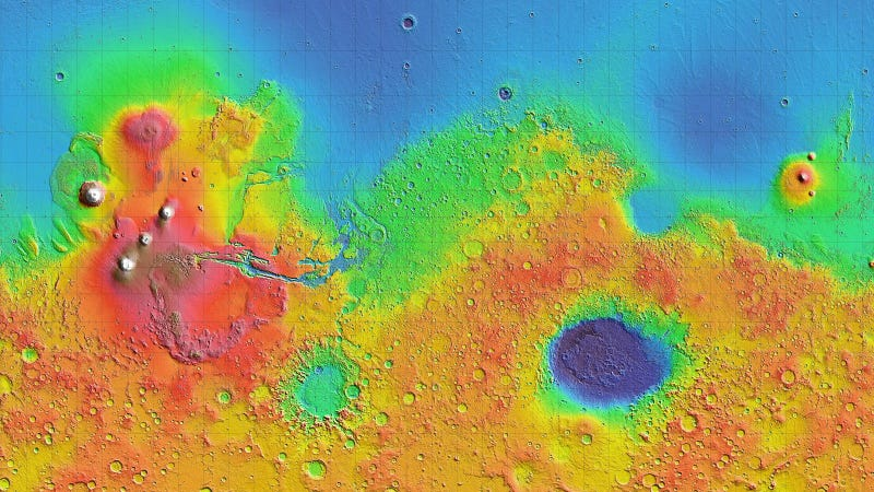 Illustration for article titled Scientists Discover Tectonic Plates on Mars