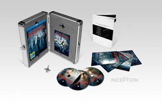 Illustration for article titled Play Like Dom Cobb With Inception's Blu-ray Briefcase Set