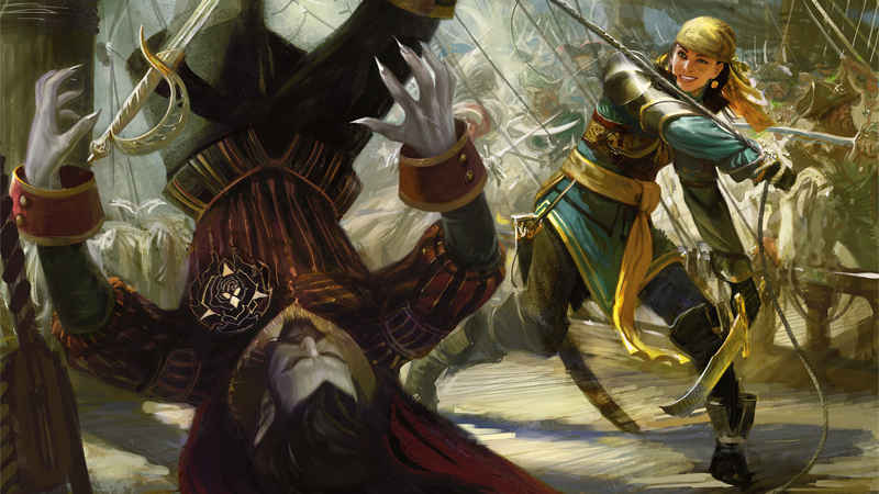Vampire pirates abound in this gorgeous new magic the gathering art voltagebd Choice Image