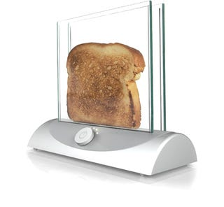 Illustration for article titled Transparent Toaster Concept