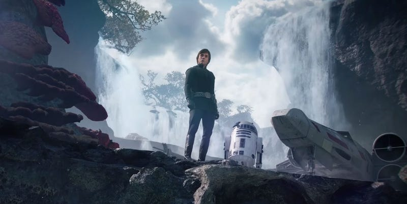 Star wars battlefront ii gets luke skywalker right star wars battlefront ii is a conflicted game the multiplayer progression system is a mess and the story campaign moves way too fast fandeluxe Images