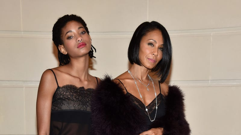 Willow Smith and Jada Pinkett Smith attend Chanel Collection des Metiers d'Art 2016/17: Paris Cosmopolite Show on Dec. 6, 2016, in Paris.