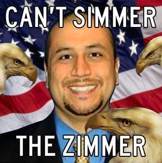 Illustration for article titled LEAVE ZIMMERMAN ALONE :'(((((