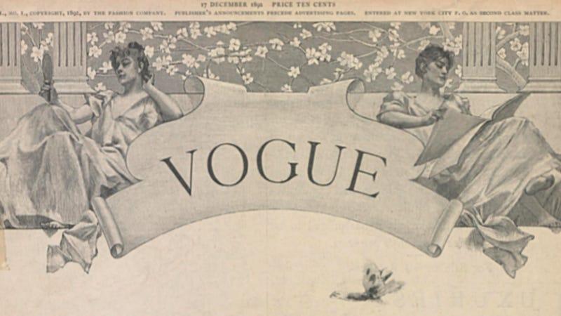 Image via the Vogue Archive, ProQuest.