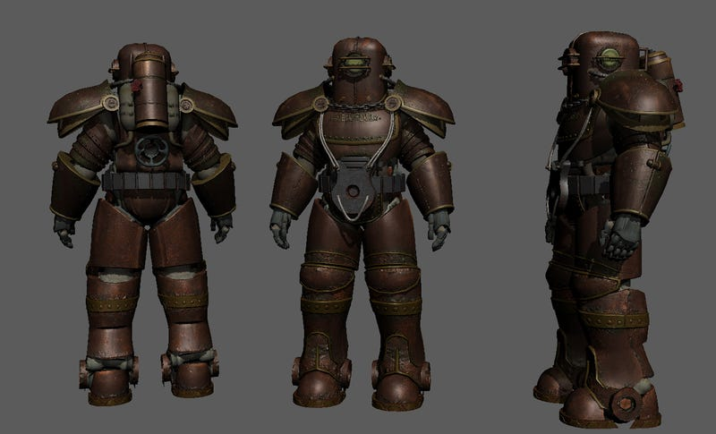 Fallout  Painted Metal Armor
