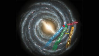 Illustration for article titled An entirely new class of galaxy-escaping hypervelocity stars