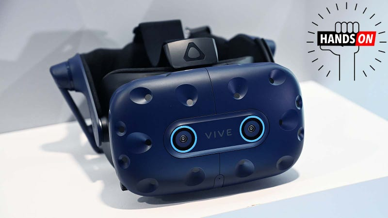 The Vive Pro Eye Is the Next Big Step for VR