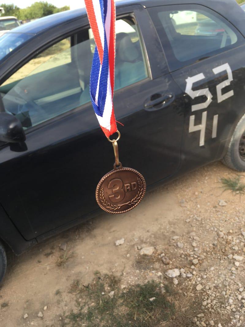 Illustration for article titled I Won a Medal