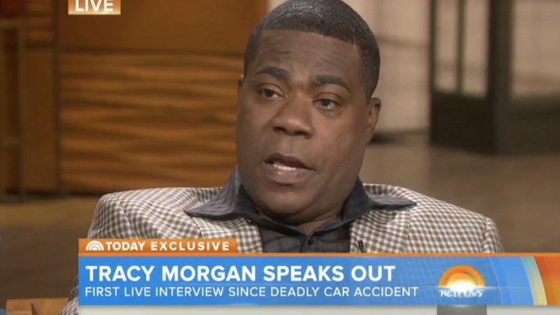 Illustration for article titled Things got emotional during Tracy Morgan's Today show interview