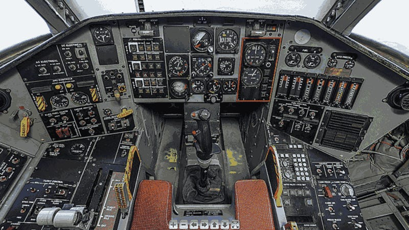 Virtually Tour The Cockpit Of The Once Top Secret Tacit ...