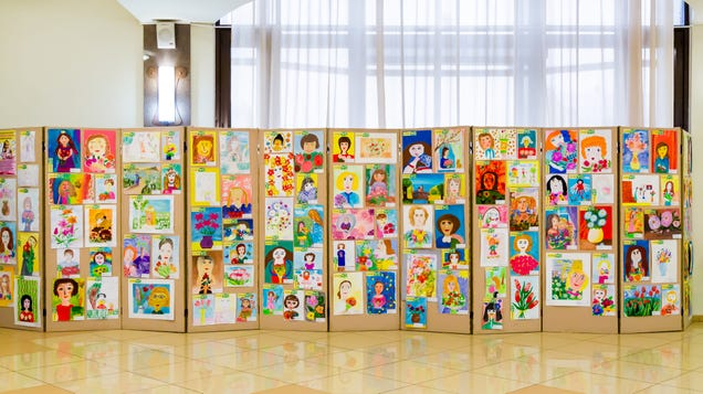 How to Keep Your Kid s Artwork From Piling Up