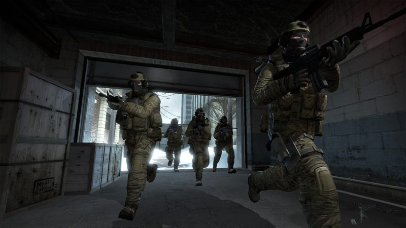 Illustration for article titled A Hacker Is Allegedly Flooding Counter-Strike Lobbies With Bots