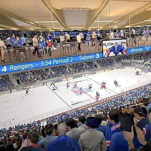 Renovated Msg To Bring Sports Arenas Into A Six Year Old S View Of The Future