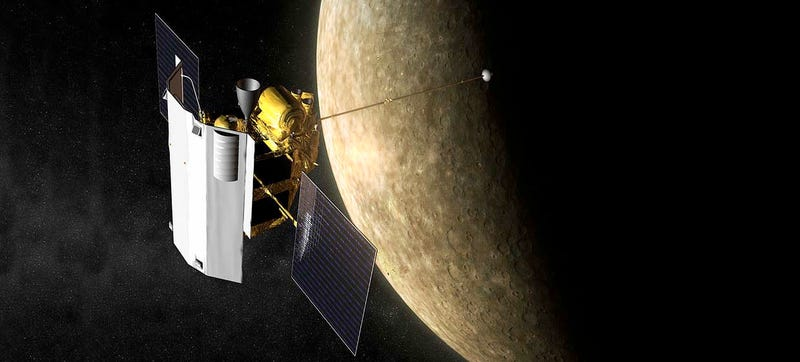 Illustration for article titled RIP Messenger: What the Spacecraft Taught Us About Mercury