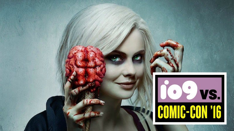 Illustration for article titled Teenage Girls,Dominatrixes, and Other Brains That Will Be Eaten iniZombie's Third Season