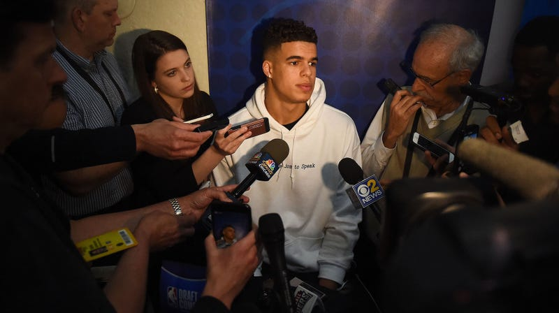 Illustration for article titled What Is Going On With Michael Porter Jr.?