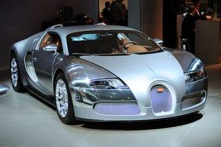 Illustration for article titled Bugatti Veyron Dubai Special Editions