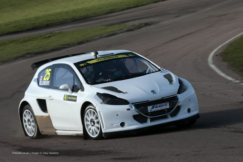 Illustration for article titled World RallyCross Championship