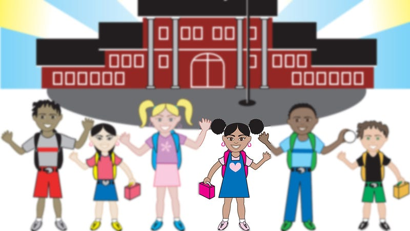 Illustration for article titled School Dress Code Mysteriously Bans Afro-Puffs (Updated)