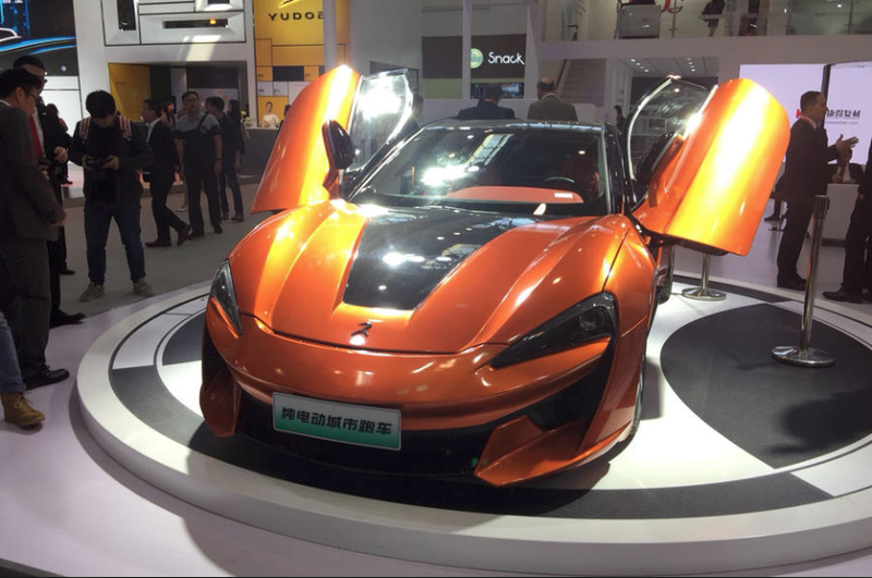 Illustration for article titled Chinese McLaren knock-off anyone?