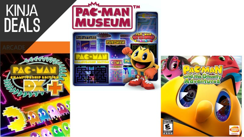 Illustration for article titled Today's Best Gaming Deals: Pac-Man's Birthday, ROCCAT Mice, and More
