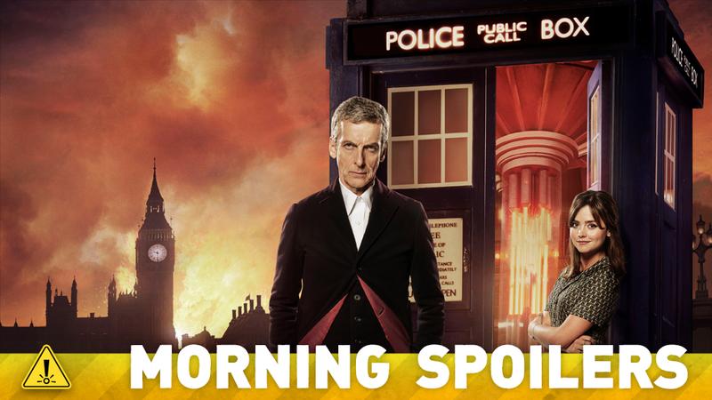 Illustration for article titled Doctor Who Set Pics, Walking Dead Hints, And Sophie Turner Talks X-Men!