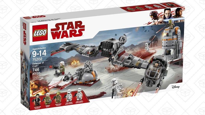 LEGO Star Wars Defense of Crait | $68 | Amazon