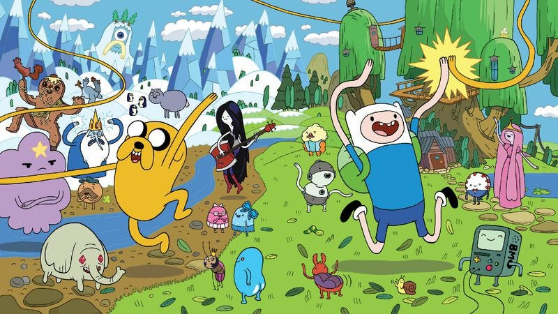 Illustration for article titled After 100 episodes, you can't tell Adventure Time what to do anymore!