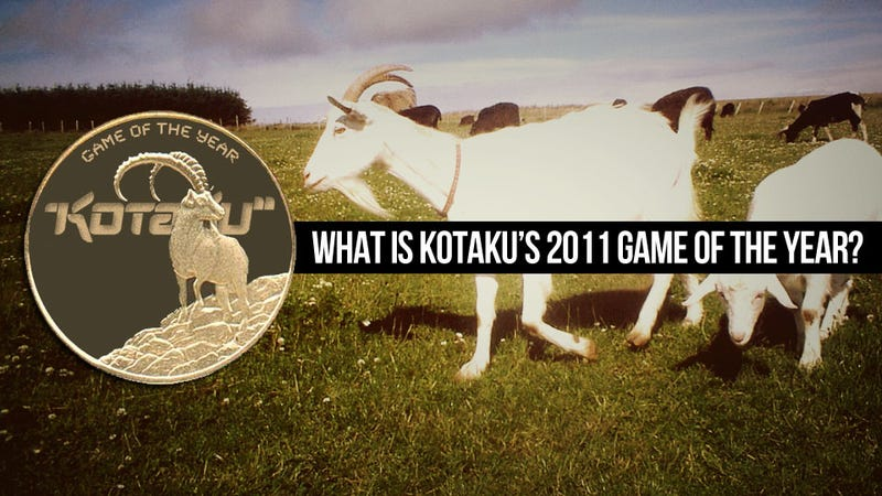 Illustration for article titled Who Will Win Kotaku's Game of the Year 2011 Debate?