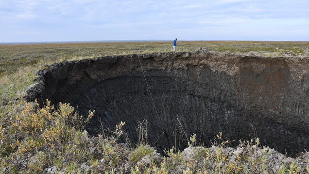 Siberia's Newest Exploding Crater Has Been Mapped in 3D