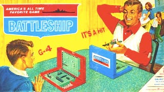 Illustration for article titled Let's write the sequel to Battleship based on some crap I found on my kitchen table